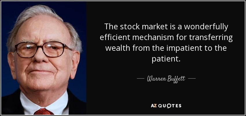 Warren Buffet Börsenzitat
